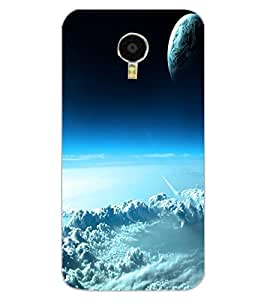 ColourCraft Sky Look Design Back Case Cover for MEIZU M3 NOTE