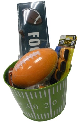 Football Lover's Gift Basket - for Get Well, Birthday, Easter, Christmas, or Other Special Ocassion
