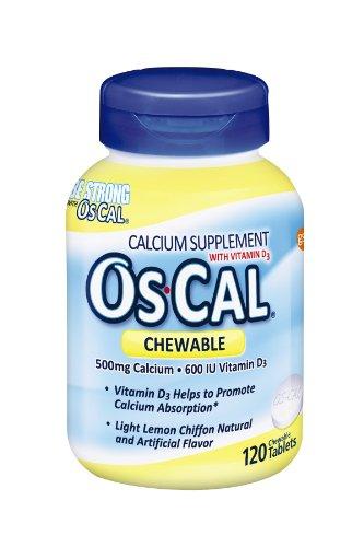 Calcium supplements chewable