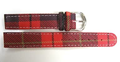 Plaid Picks - Colorful Plaid Watch Band