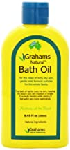 Grahams Natural Bath Oil 8.4 Ounce