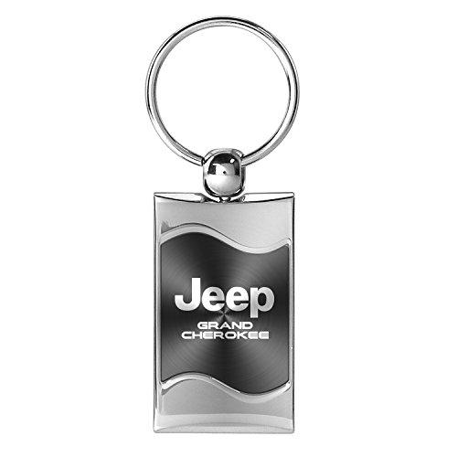 jeep-grand-cherokee-gray-spun-brushed-metal-key-chain