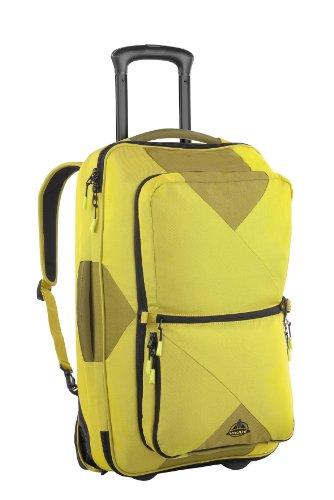 VAUDE Rails 80 Luggage Trolley - Lemon