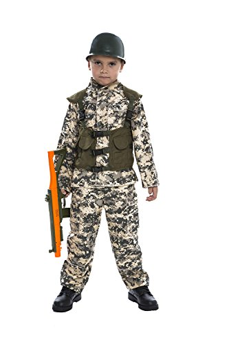 Toy Island Boys Child Army Costume, Size 4-6