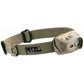 Petzl E89 PD Tactikka XP Headlamp, Desert