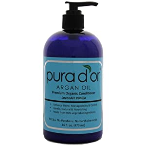 Pura d'or: Premium Organic Conditioner (16 fl. oz.)
