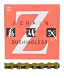 KMC Z410 Bicycle Chain (1-Speed, 1/2 x 1/8-Inch, 112L, Ti-N Gold)