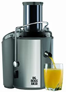 Big Boss 8123 700-Watt Juicer 18,000 RPM, Stainless Steel