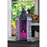 Enchanted Fuschia Candle Lamp - 1 Unit