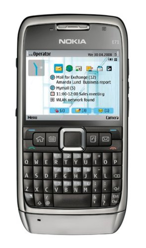Nokia E71 Unlocked Phone with 3.2 MP Camera, 3G, Media Player, GPS Navigation, Free Voice Navigation, Wi-Fi, and MicroSD Slot–U.S. Version with Warranty (Gray)