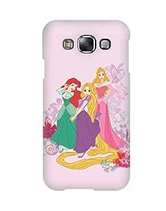 Pick pattern Back Cover for Samsung Galaxy E5 SM-E500F