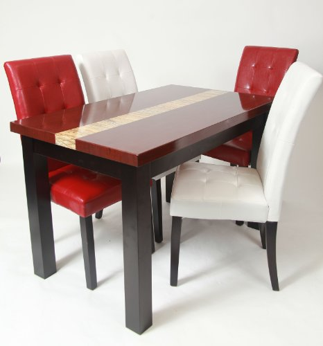Sale roundhill furniture penda 5 piece artificial - Tables and chairs price ...