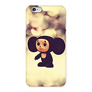 Ajay Enterprises Cute Small Monkey Back Case Cover for iPhone 6 6S