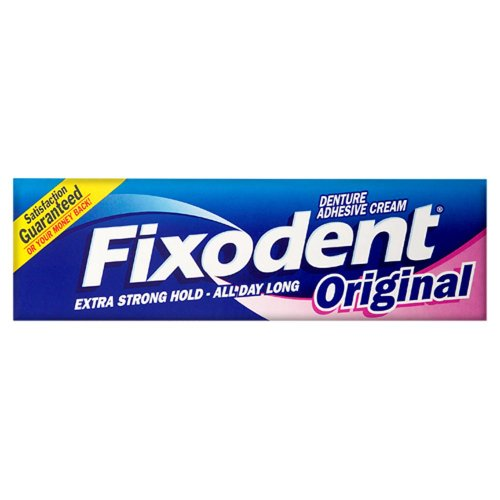 Fixodent Original Denture Adhesive Cream 2 x 40ml
