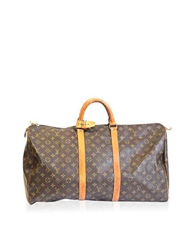 Louis Vuitton Monogram Keepall 55, Brown