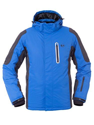 Ultrasport Ischgl - Chaqueta de esquí para hombre, color azul, talla M