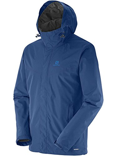 Salomon Elemental Giacca, Uomo, Blu (Midnight Blue), L