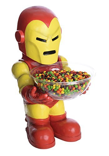 Marvel Classic Iron Man Candy Bowl Holder (Iron Man Invitations compare prices)