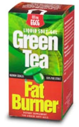 Green Tea Fat Burner? 150 Liquid Soft-Gels (Maximum Strength 100% Pure Extract)