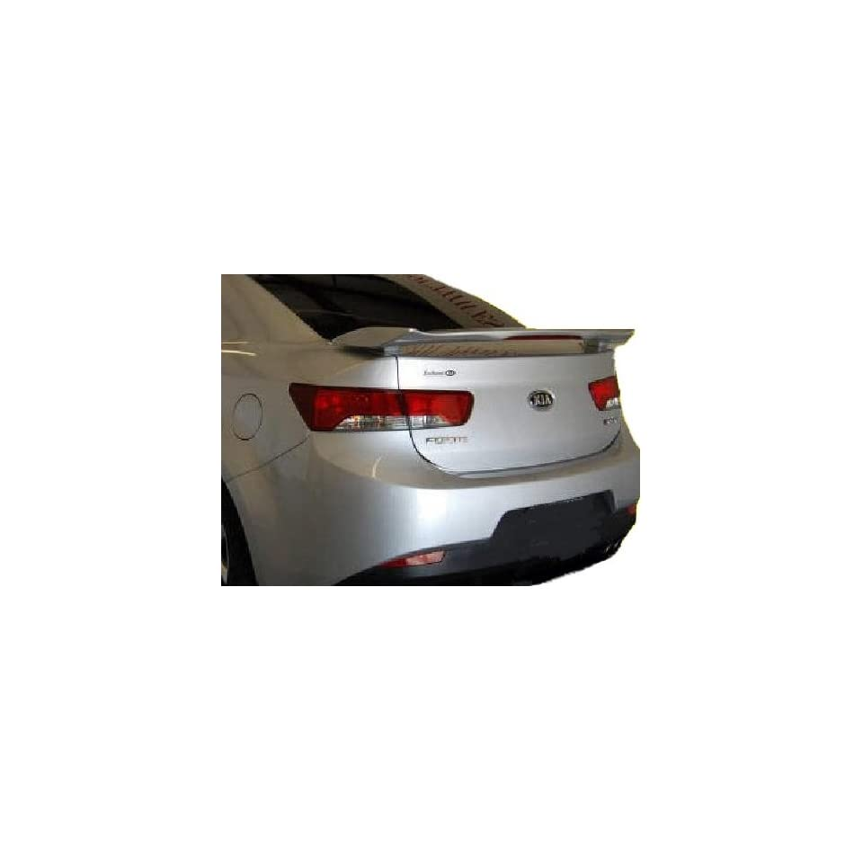 2010 Kia Forte Koup 2 Post Civic SI Style Spoiler   Painted or Primed  IY Spicy Red