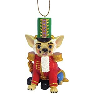 Nutcracker Chihuahua Dog Ornament