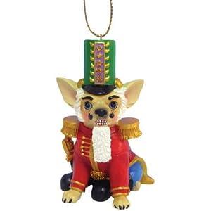 Nutcracker Chihuahua Dog Ornament
