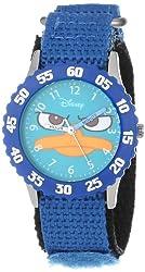 Disney Kids W000157 Agent P Time Teacher Watch