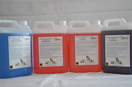 4-x-5-litres-baby-powder-fragrance-pet-kennel-disinfectant-deodoriser-free-post-