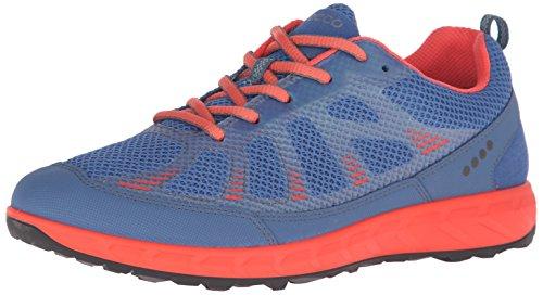 Ecco ECCO TERRATRAIL - Scarpe da Trail Running Donna, Multicolore (COBALT/CORAL BLUSH59704), 40 EU