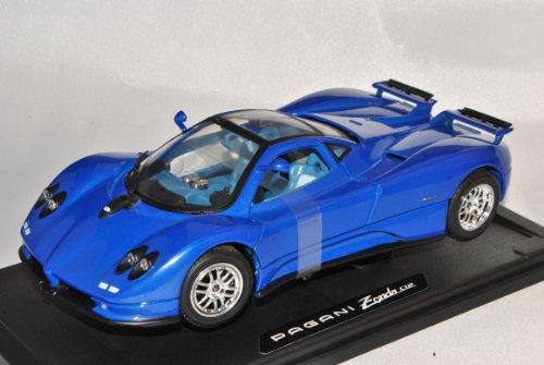 Pagani Zonda C12 Coupe Blau 1/18 Motormax Modell Auto