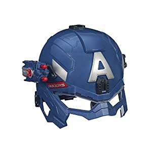 Marvel Captain America Super Soldier Gear Battle Helmet