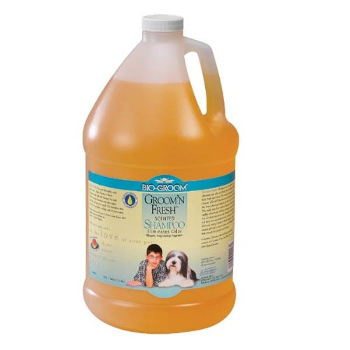 Bio-Groom Groom 'N Fresh Dog And Cat Conditioning Shampoo, 2-1/2-Gallon