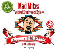 Twisted Habanero BBQ Sauce 18 Oz