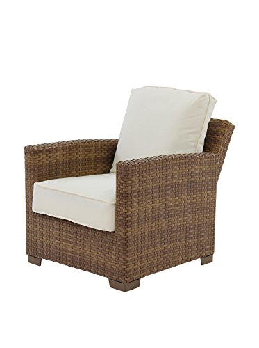 Panama jack outdoor st barths recliner lounge chair with for Sofa exterior reclinable
