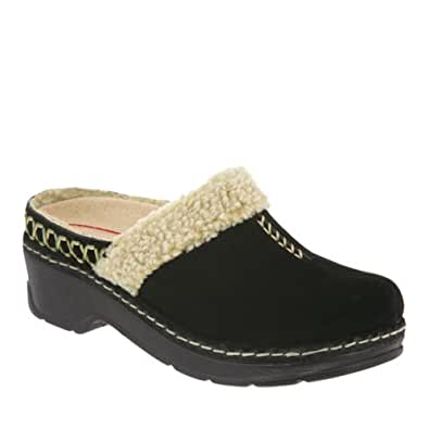amazon   klogs zurich womens clogs shoes leather black