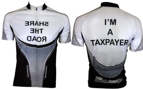 Buy Low Price Cyclist Pay Taxes Cycling Jersey (B005J6AB2M)