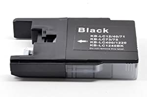 8 Pack LC75/LC-75 Black High Yield Compatible Ink Cartridge For Brother MFC-J280W, MFC-J425W, MFC-J430W,MFC-J435W, MFC-J5910DW, MFC-J625DW, MFC-J6510DW, MFC-J6710DW, MFC-J6910DW, MFC-J825DW, MFC-J835DW