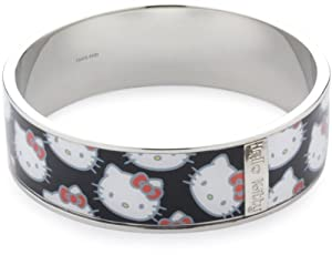 Hello Kitty Multi-Kitty Face 20mm Wide Bangle