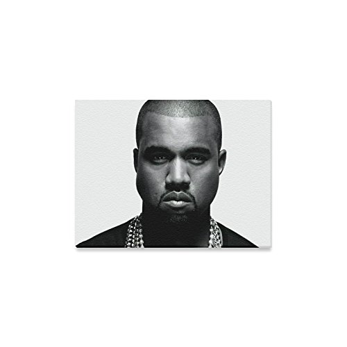 Kanye West Custom Gallery Wrapped Wall Art Canvas Print 16 X 12 Inch Ready To Hang (Kanye West Painting compare prices)