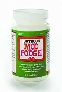 Mod Podge CS11220 8-Ounce Glue, Outdoor