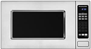 KitchenAid Architect Series II: KCMS1555SSS 1.5 cu. ft. Countertop/Built-In Microwave Oven - Stainless Steel