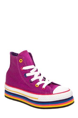 Converse Kids' Chuck Taylor Zipper Platform Sneaker