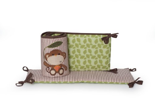 Kids Line All Around Bumper, Jungle Walk (Discontinued by Manufacturer)