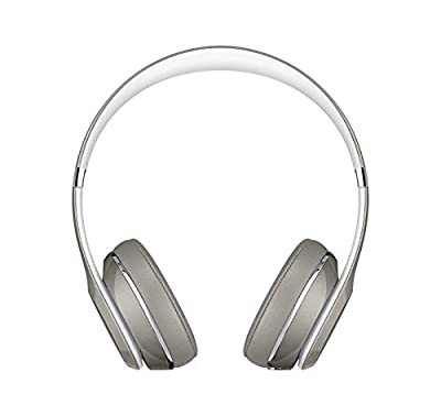 Beats by Dr Dre Solo2 Wired On-Ear Headphones (Luxe Edition) Silver MLA42PA/A