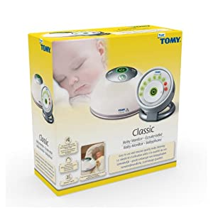 tomy 71027 classic monitor ta100 analogue baby monitor toys a. Black Bedroom Furniture Sets. Home Design Ideas