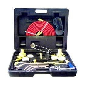 """Victor"" Style Welding Cutting Torch Kit Acetylene Oxygen"