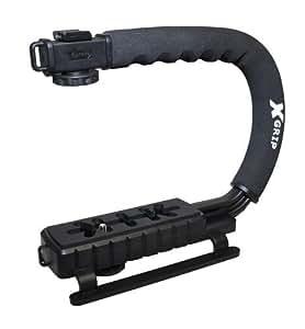 Opteka X-GRIP  カメラスタビライザー ステディカム カムコーダー  撮影安定化機材 手振れ防止 スタビライザー スポンジ製ハンドルグリップ(ブラック) 【並行輸入】