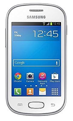 Samsung Galaxy Fame Lite DUOS S6792 Unlocked GSM Dual-SIM Smartphone - White