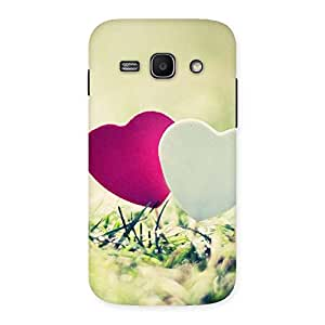 Heart Couple Multicolor Back Case Cover for Galaxy Ace 3
