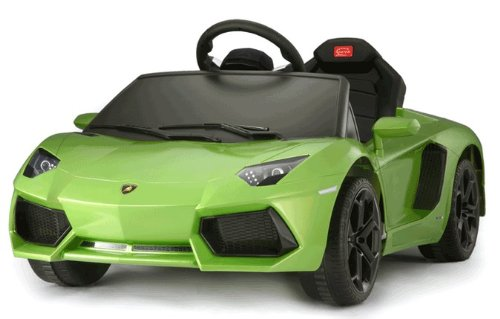 Lamborghini Aventador Battery Kids Ride On Car Electric Childrens Toy w/Remote Under Licensed Power Wheel With Key For Start